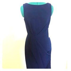NWT JS Collection Blue Midi Dress